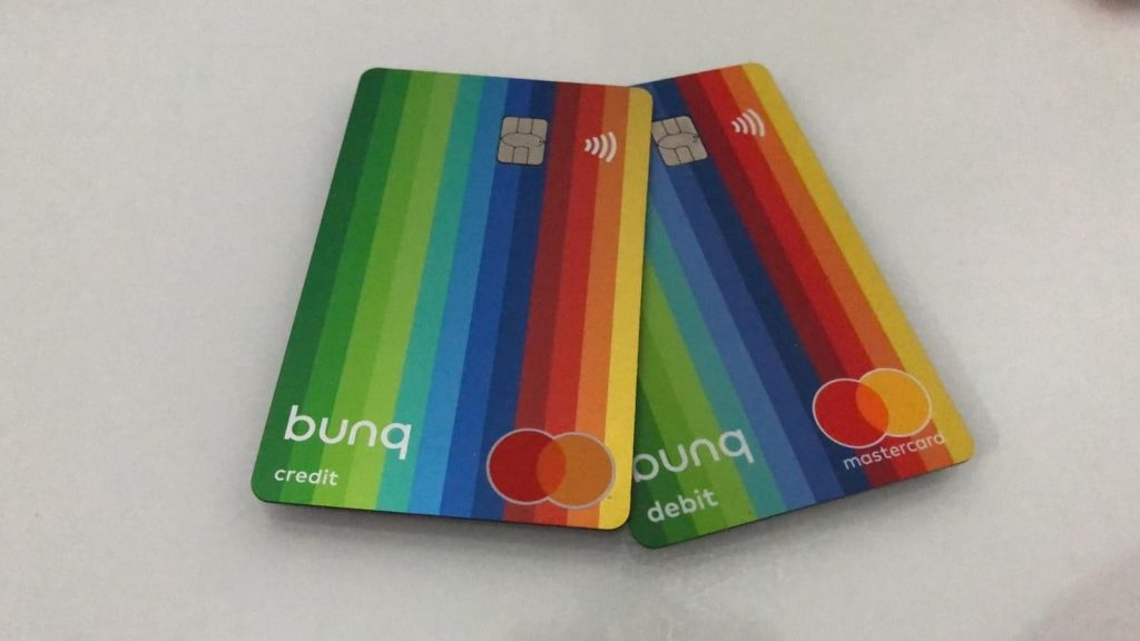 cartes bancaires Numberless Bunq